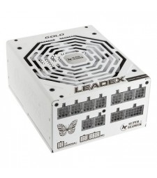 "SuperFlower Leadex GOLD 750W Fully Modular ""80 Plus Gold"" Power Supply - White"